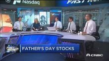 Four stocks the traders would buy for their dad