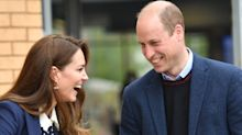 Duke and Duchess of Cambridge tell nation to 'keep talking' as they lead mental health minute