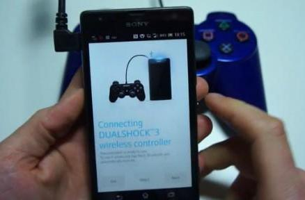 Sony's Xperia SP pairs with DualShock 3 controller, a nice merlot