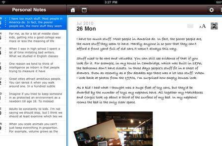 TUAW's Daily App: Chapters