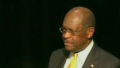 Cain Fights Accusations Of Affair