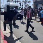 Protesters Clash in Huntington Beach as Police Declare Unlawful Assembly