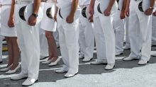 Military investigating video of Navy members shot through peephole