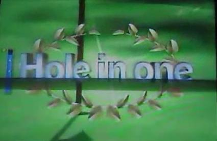 Hole in One in Wii Sports: Golf