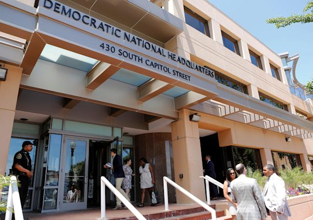 The headquarters of the Democratic National Committee is seen in Washington, U.S. June 14, 2016. (Photo: Gary Cameron/Reuters)