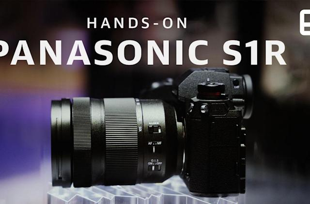 Panasonic's full-frame mirrorless S1R is loaded with potential