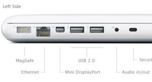 New unibody MacBook loses two ports
