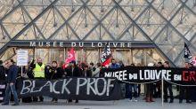 Protests close Louvre museum in Paris amid pension strikes