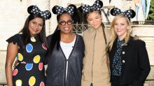Mindy Kaling Makes First Post-Baby Appearance at Disneyland With Her 'Wrinkle in Time' Co-Stars