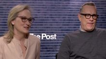 'The Post': Meryl Streep gets real about why she and Tom Hanks haven't worked together