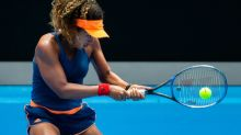 Erratic Osaka beaten in first match since Australian Open