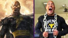 Dwayne Johnson celebra que por fin encarnará a un superhéroe en Black Adam