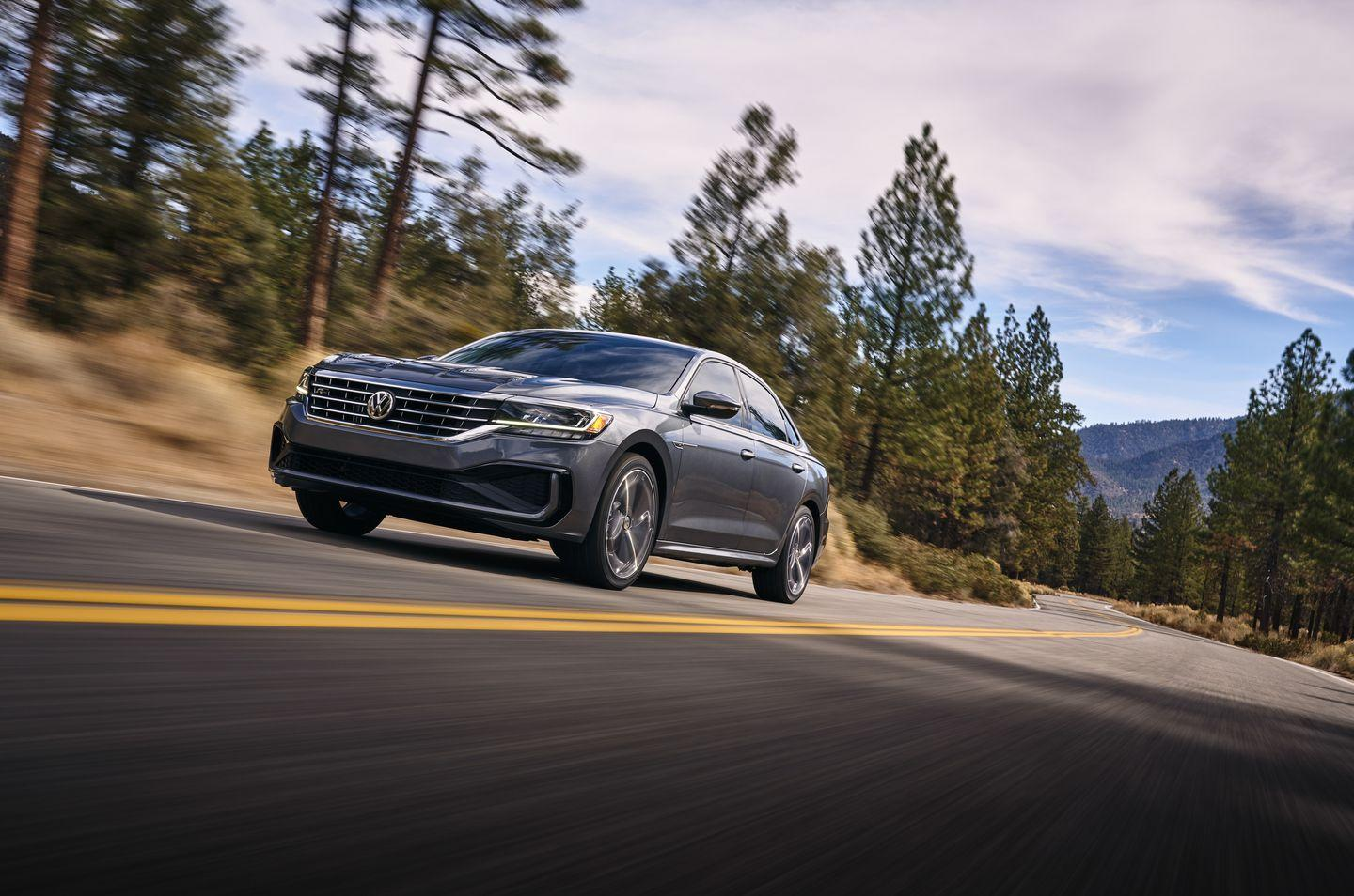"""<p>Last year's Passat was a solid vehicle with a roomy interior and refined ride quality. Based on <a href=""""https://www.caranddriver.com/reviews/2020-volkswagen-passat-prototype-driven"""" rel=""""nofollow noopener"""" target=""""_blank"""" data-ylk=""""slk:our brief drive in a prototype of the new Passat"""" class=""""link rapid-noclick-resp"""">our brief drive in a prototype of the new Passat</a>, those pluses remain. But then, they should-the car is basically the same as it was before.</p>"""