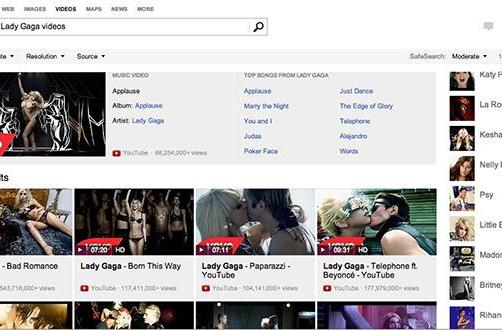Bing rolls out new music video search, complete with hover-over previews