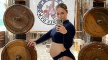 Pregnant influencer hits back at critics of her intense workouts
