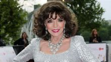 """Joan Collins confiesa que Marilyn Monroe le advirtió de los """"lobos de Hollywood"""""""