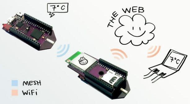 Insert Coin: Arduino-compatible Pinoccio microcontroller sports battery, WiFi