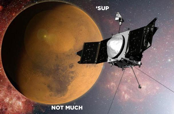 NASA's MAVEN probe arrives in orbit around Mars