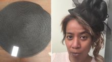 Woman uses $1.50 Kmart product to create stunning fascinator