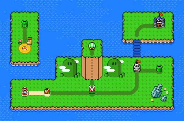 'Super Mario Maker 2' update lets you create overworld maps
