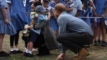 Dubbo boy, 5, steals show as royals arrive