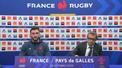 Rugby - Bleus : Galthié : «J'espère qu'on a apporté un peu de bonheur»