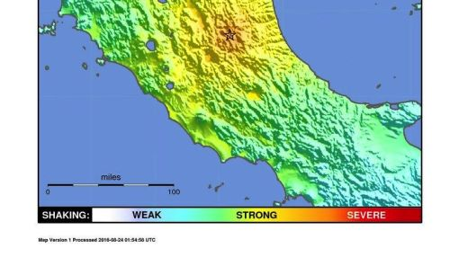 Italy Earthquake: Complex Geology Drives Frequent Shaking