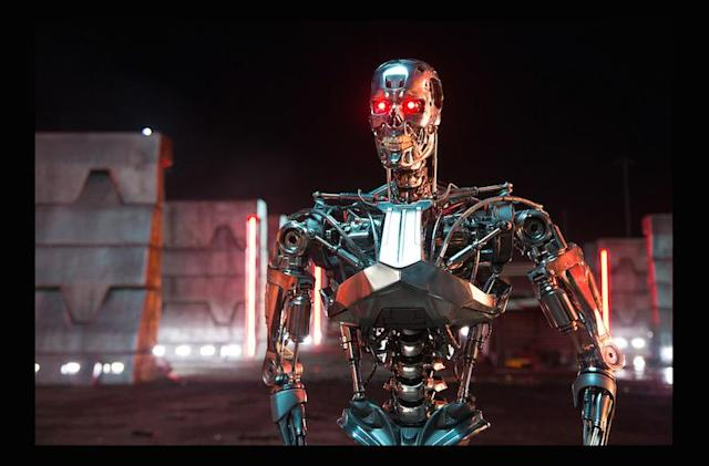 Shoot cyborgs in 'Terminator Genisys' game before the movie starts