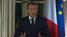 """Il n'y aura """"ni tournant ni changement de cap"""" selon Macron"""