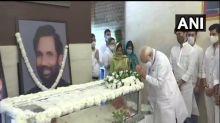 PM Modi, Nadda pay last respects to Ram Vilas Paswan