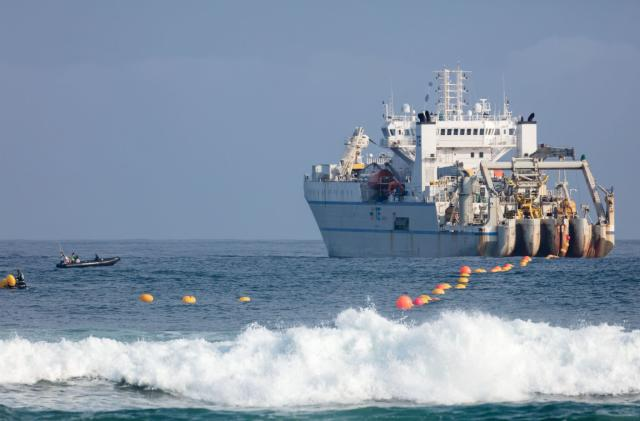 Microsoft and Facebook's massive undersea data cable is complete