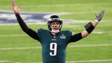 Eagles outgun Patriots to win first Super Bowl