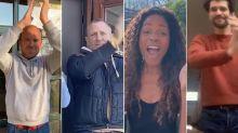 Daniel Craig and Rachel Weisz lead James Bond cast in 'clap for carers'
