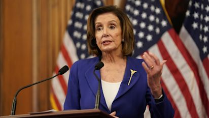 Pelosi slams Trump for delayed response to crisis