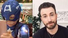 """Les stars d'""""Avengers"""" saluent la bravoure d'un petit garçon défiguré après avoir sauvé sa sœur"""