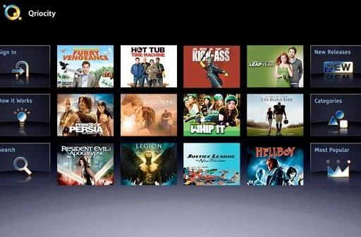 Sony's Qriocity video-on-demand services goes live in Europe