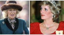 Why is Camilla wearing Princess Diana's wedding gift?