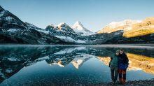 山系情侶完美示範 大自然的浪漫