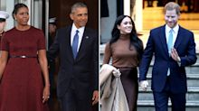 Michelle and Barack Obama Are 'Not Advising' Prince Harry and Meghan Markle on Their Royal Exit