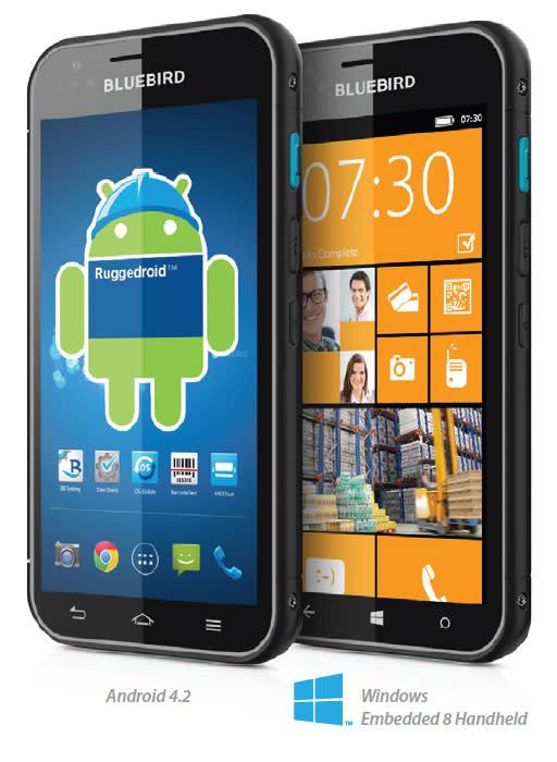 Bluebird BM 180: Windows Phone und Android auf einem Gerät