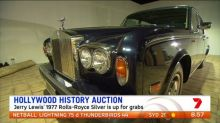 Jerry Lewis' iconic Rolls-Royce up for auction