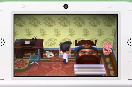Tour Reggie Fils-Aime's house in Animal Crossing: New Leaf