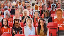 Football fans impressed as Prince Harry and Meghan Markle cutouts make it into stadium at Nottingham Forest match