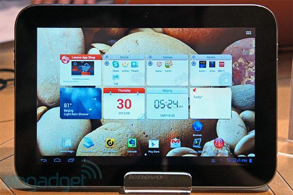 Lenovo IdeaTab A2109 gets official outing at IFA 2012: 9-inch 1280 x 800 display, Tegra 3, Android 4.0 (hands-on video)