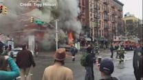 New York City Building Explosion Captured by Eyewitness