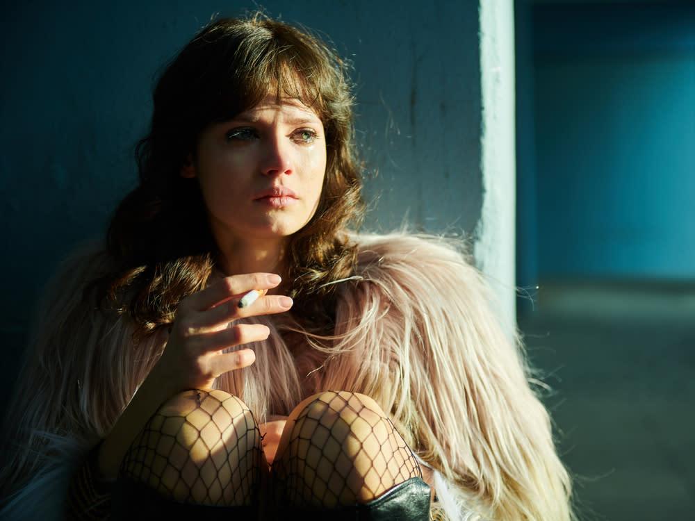Jana McKinnon tanzte sich jeden Morgen in die Rolle der Christiane F.