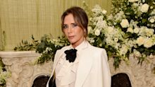 Victoria Beckham shares video of Harper's first wobbly steps to celebrate David's birthday