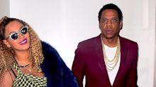 Beyoncé and Jay-Z Pose in Elevator Together