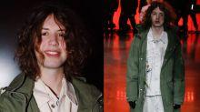 Lucas Jagger estreia como modelo na semana de moda de Londres