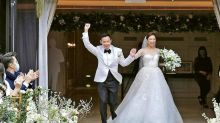 Queenie Chu ties the knot with cardiologist Jason Chan